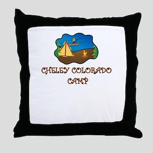 Cheley Colorado Camp truck stop novelty tee Throw