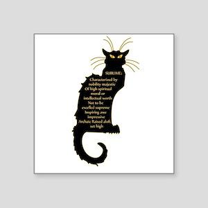 sublime black french kitty cat black Art Nouveau S