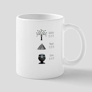 Mayan apocalypse aliens winter solstice tee Mug