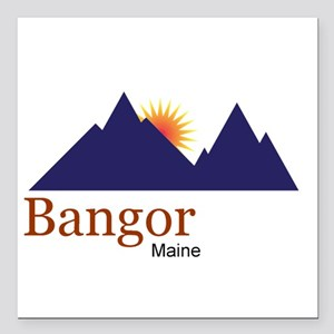 Bangor Maine truck stop novelty tee Square Car Mag