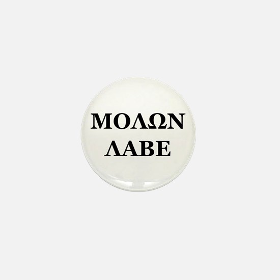 Molon Labe Mini Button