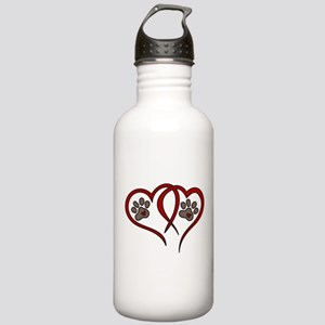 Puppy Love Stainless Water Bottle 1.0L