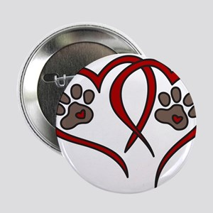 "Puppy Love 2.25"" Button"