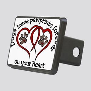 Pawprints Rectangular Hitch Cover