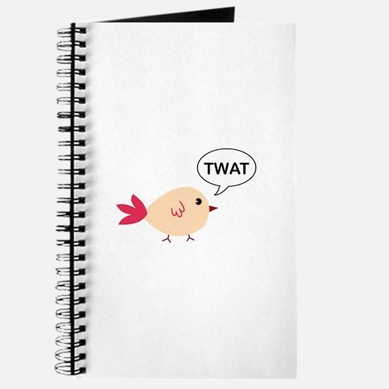 Twat said the bird Journal