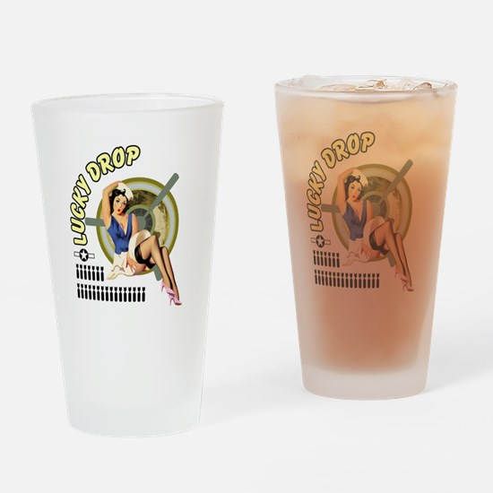 Cute Vargas Drinking Glass
