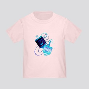 Two Dreidels-Happy Spinning Toddler T-Shirt