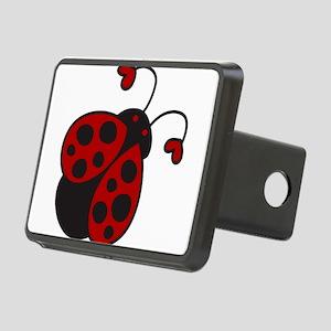 Ladybug Rectangular Hitch Cover