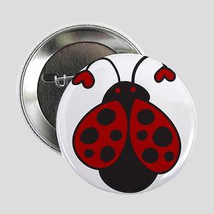 """Ladybug Bug 2.25"""" Button"""