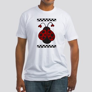 Ladybug Bug Fitted T-Shirt