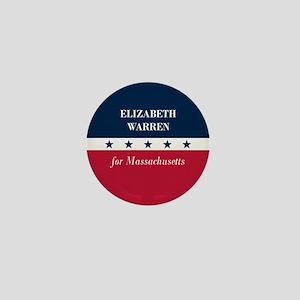Warren for Massachusetts Mini Button