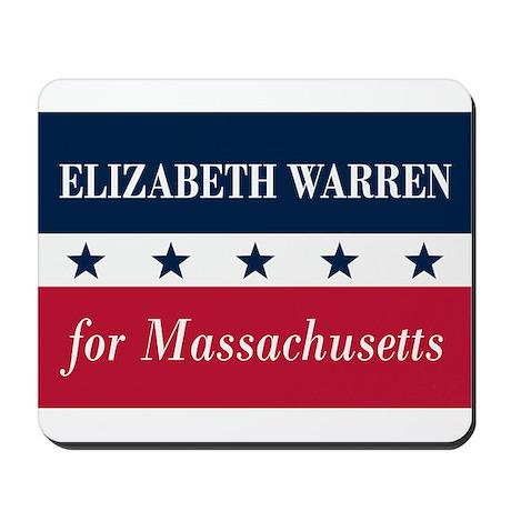 Warren for Massachusetts Mousepad