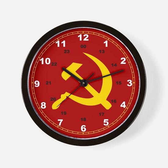Cool Russian Wall Clock