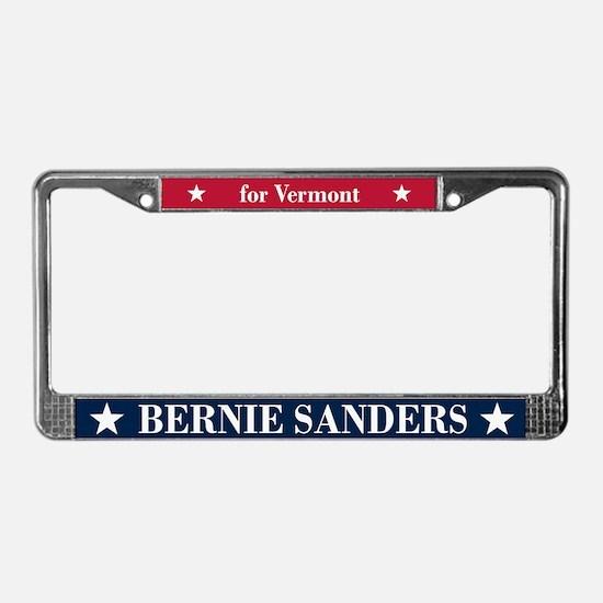 Bernie Sanders for Vermont License Plate Frame