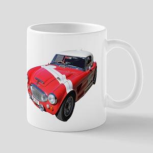 Little Red Austin Healy Car Mug
