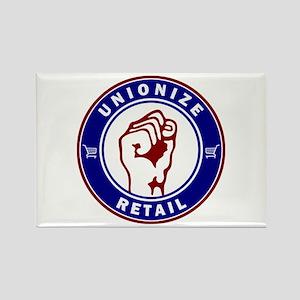 Unionize Retail Rectangle Magnet