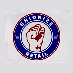 Unionize Retail Throw Blanket