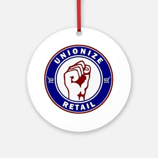 Unionize Retail Ornament (Round)