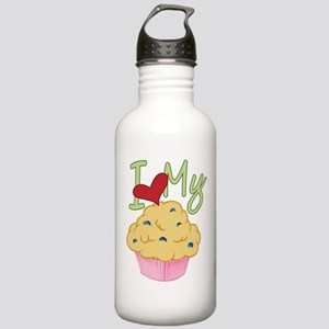Love Muffin Stainless Water Bottle 1.0L