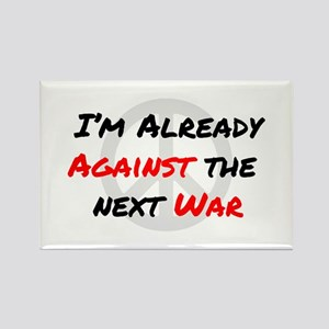 Already Against War Rectangle Magnet