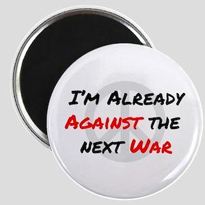 Already Against War Magnet