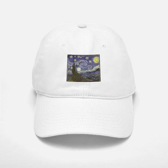 Van Gogh Starry Night Baseball Baseball Cap