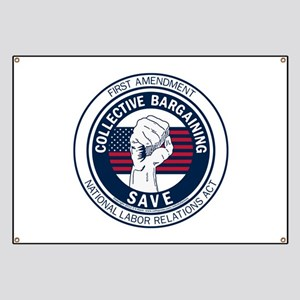 Save Collective Bargaining Banner