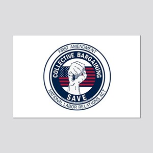 Save Collective Bargaining Mini Poster Print