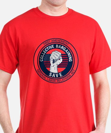 Save Collective Bargaining T-Shirt
