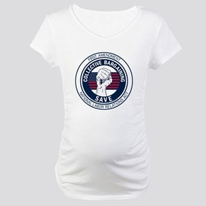 Save Collective Bargaining Maternity T-Shirt