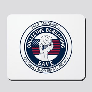 Save Collective Bargaining Mousepad