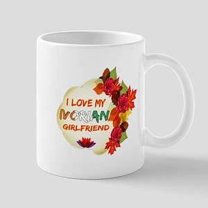 Ivorian Girlfriend Valentine design Mug