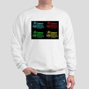 Vacancy at the Round-Up Motel Sweatshirt