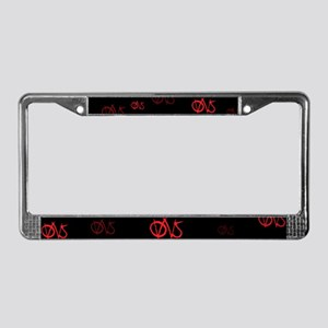 OWS Occupy Wall Street License Plate Frame