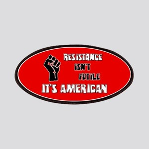Resistance It's American Patches