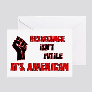 Resistance It's American Greeting Card