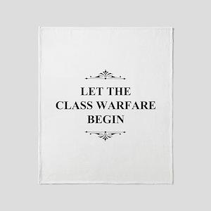 Class Warfare Begin Throw Blanket