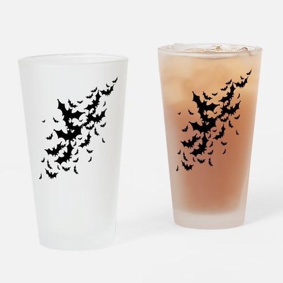 Lots Of Bats Drinking Glass