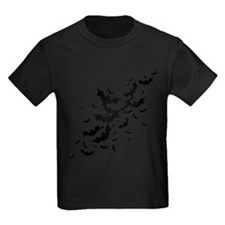 Lots Of Bats Kids Dark T-Shirt