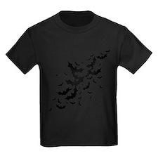 Lots Of Bats Kids Dark T-Shirt
