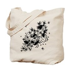 Lots Of Spiders Tote Bag