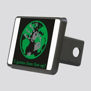 U gonna clean that up? Rectangular Hitch Cover
