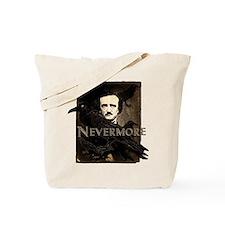 Poe Raven Nevermore Tote Bag