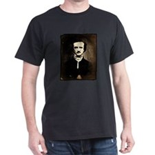 Vintage Poe Portrait Dark T-Shirt