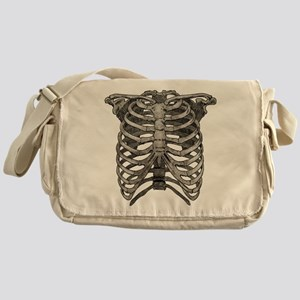 Old Ribcage Messenger Bag