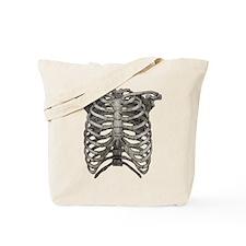 Old Ribcage Tote Bag