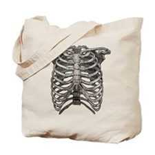 Old Ribcage Tote Bag