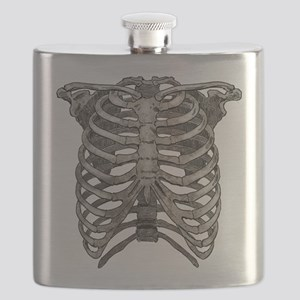Old Ribcage Flask