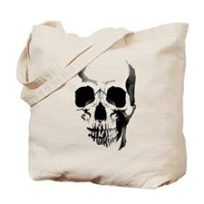 Skull Face Tote Bag