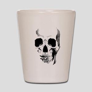 Skull Face Shot Glass
